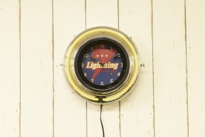 LIGHTNING 300TH ANNIVERSARY EDITION CLOCK